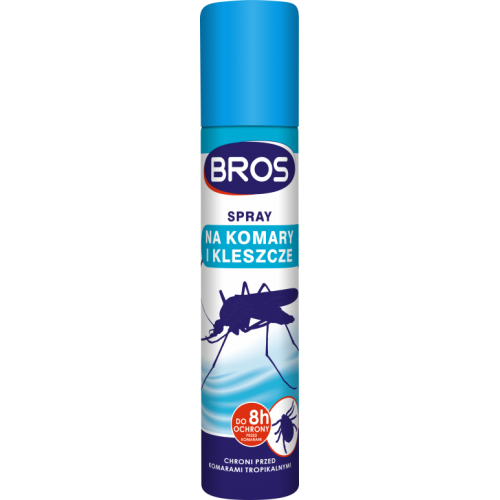 BROS SPRAY KOMARY KLESZCZ130/90ML8485     120/